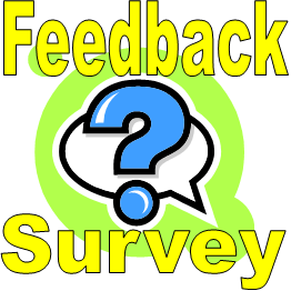 feedback tabs and surveys