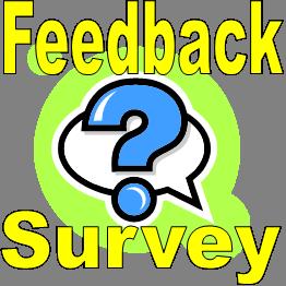 feedback tabs and surveys